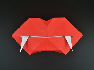 Origami: Vampire Mouth - Instructions in English (BR)
