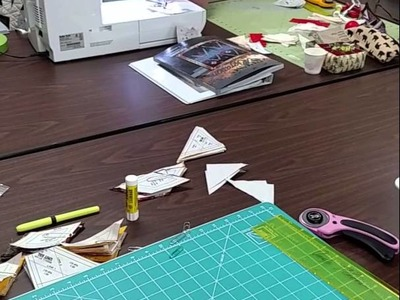Quilting Tutorial - Quiltworx.com: How to assemble the small eight point star