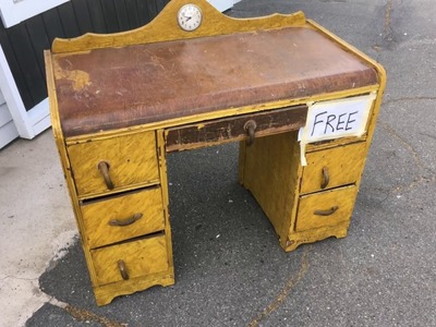 RESTORATION  - ANTIQUE ART DECO VANITY.DESK