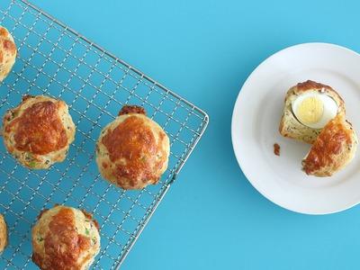 Sausage, Egg & Cheese Muffins - Martha Stewart