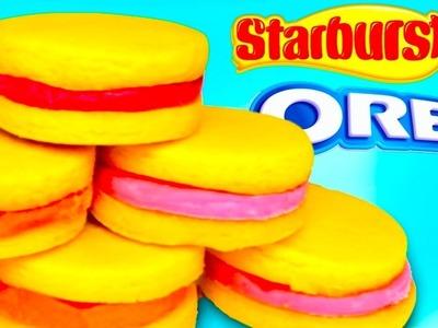 STARBURST OREOS - How To Make Starbursts Candy Filled Oreo
