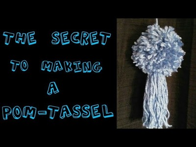 The Secret to Making the Perfect Pom-Tassel