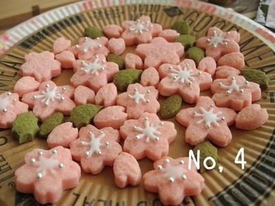 桜風味クッキーミックス粉【100均】Sakura Flavor Cookie Mix