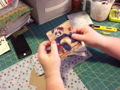 Tutorial-How to make Fabric Coasters