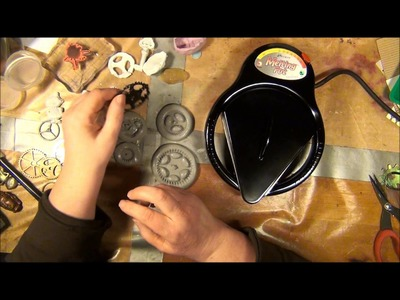 TUTORIAL - How to make mold-n-pour molds and use them with clay and utee