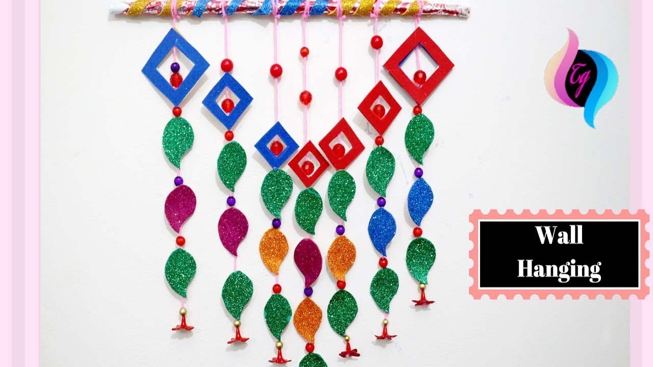 Wall Decoration With Paper Craft Paper Craft Ideas For Decoration