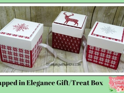 Wrapped In Elegance Gift.Treat Box
