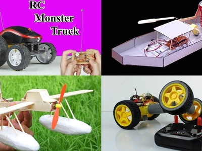 4 Amazing Rc Toys You can Do at Home - Compilation - Diy remote control toys