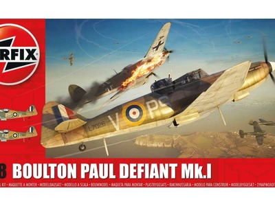 Airfix 1.48 Boulton Paul Defiant Mk.1 - Part 1 (Cockpit Part 1)