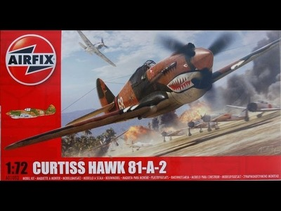 Airfix 1.72 Curtiss Hawk 81 (P-40b) - Flying Tigers - Part 3