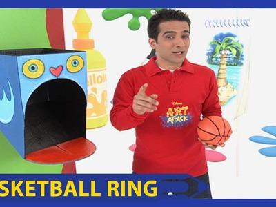 Art Attack | Basketball Ring | Disney India Official