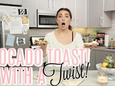 AVOCADO TOAST 2 NEW WAYS!   Cooking With Lauren