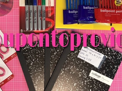 Back to School Office Depot.Max Penny Deals!
