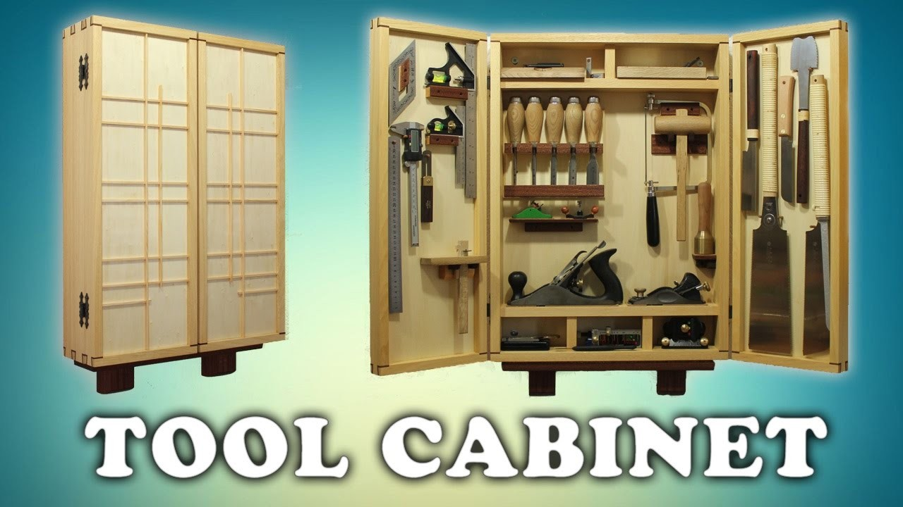 Building a woodworking tool cabinet for Tools to build a house