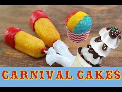 CARNIVAL CAKES Cupcakes, Twinkies & Super Bowl Treats   My Cupcake Addiction   Elise Strachan
