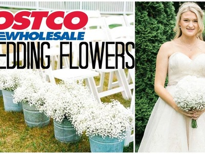 Costco Wedding Flowers! | Review & How To