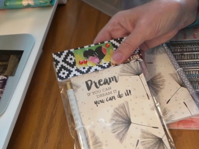 Craft Fair Idea: How to Gussy up Dollar Tree Notebooks & Pencils