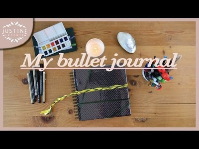 Creative bullet journal: how to start & initial setup | Justine Leconte