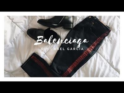D.I.Y Balenciaga Denim | Abel Garcia