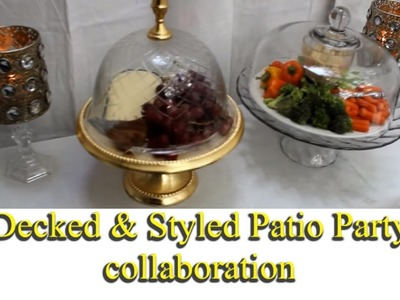 Decked Styled Patio Party Collaboration Hosted by Juani's House