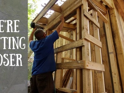 DIY ~ Composting OutHouse ~Preparing the OutHouse For Siding!