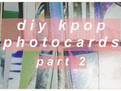 ✶ diy kpop photocards (part 2) the difference between photo printing apps ✶