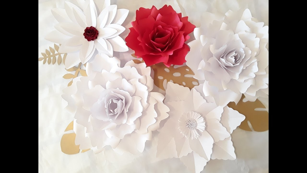 Diy Giant Paper Flower Tutorial Kubreforic