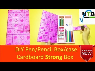 DIY Pen Pencil Box Case Cardboard Strong Box