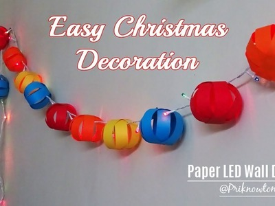 Diy room decor | Christmas decoration ideas | 3 best room decoration ideas | priknowtomakeit