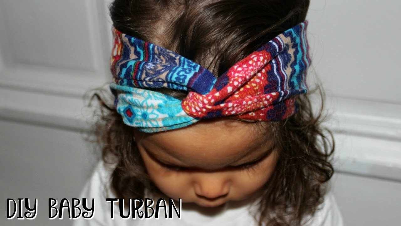 Easy Diy Baby Turban Headband