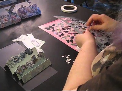Floral Dream Premium Touch of Shimmer Card Kit