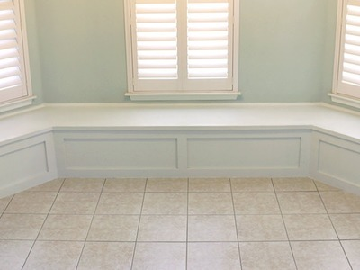 How to Build Simple Banquette Bench Seating