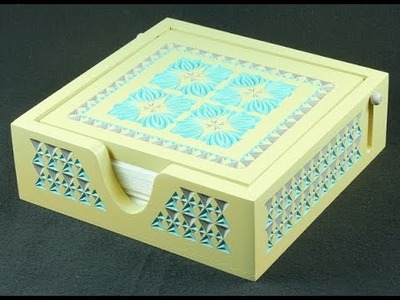 How to carve this napkin holder box