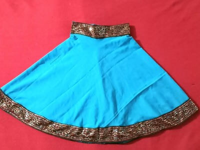 How to cut and stitch baby umbrella cut lehenga