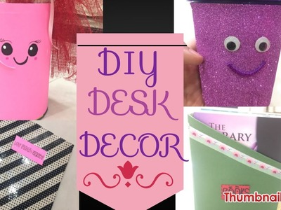 How to decorate your study table for girls|| 4 ways to an organised desk|| FM`s world