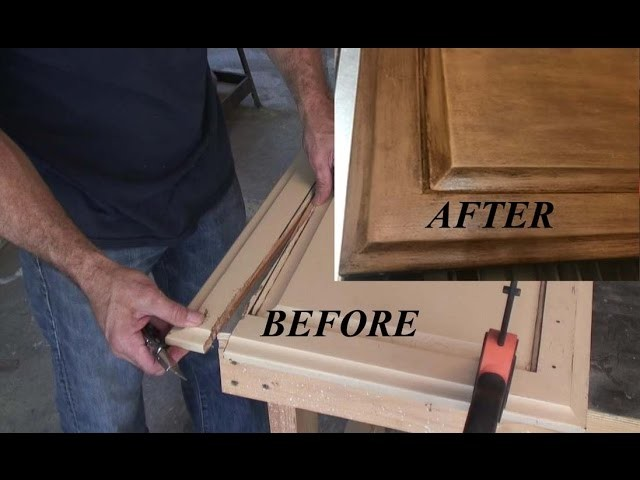 How to fix Cabinet Doors W. Basic Tools