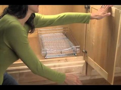 How to Install Roll-out Cabinet Drawers  |  Solutions.com