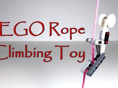 How to Make a LEGO Rope Climbing Toy