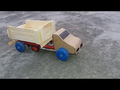 How to make a Mini Lorry Truck (mini pickup truck) DIY Powered Electric Truck