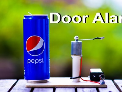 How to make a Simple Door Alarm at Home  - Theft alert Alarm at Home