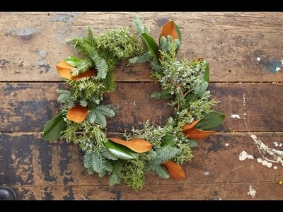 How to Make an Evergreen Wreath - This Old House