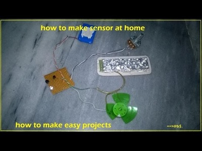 How to make powerful long range proximity sensor at home - Easy Step by step
