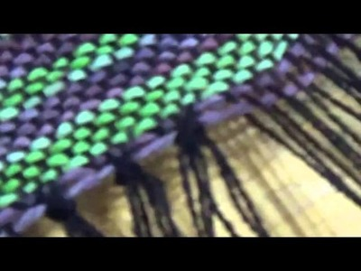 How to Tie and Secure the Warp Ends