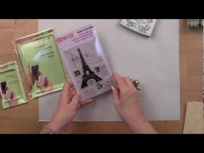 How to Use Stampendous Perfectly Clear Stamps