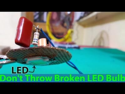 Make a circuit of LED BULB!