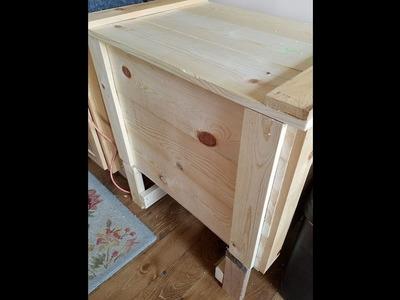 Off Grid Refrigerator | Ice Box Build