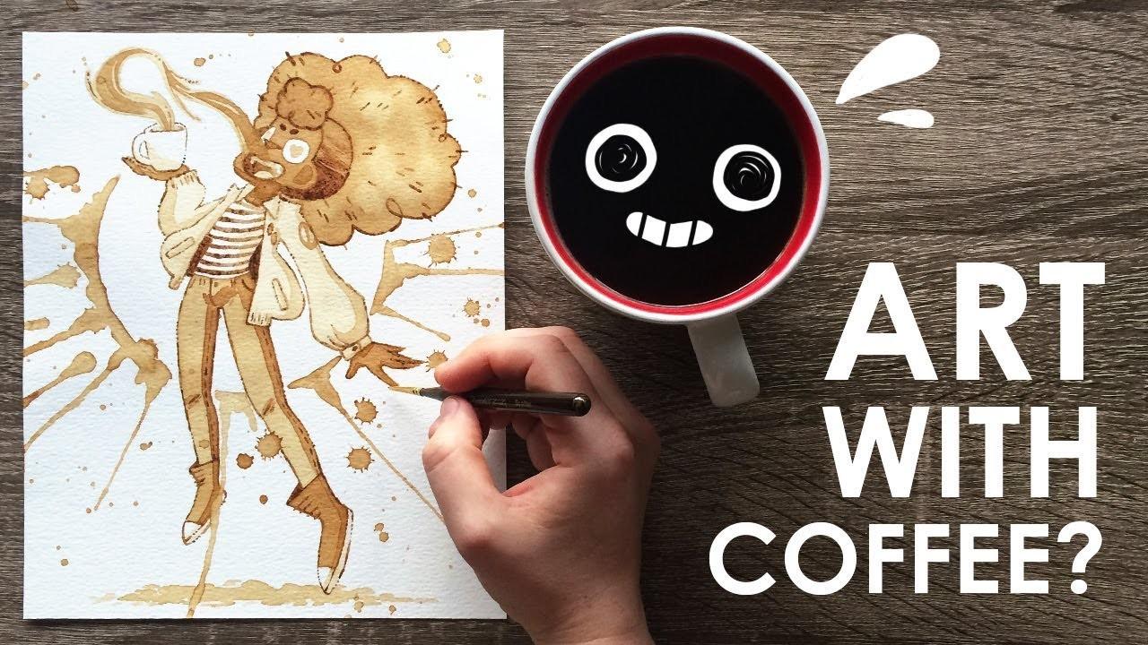 Painting with coffee for Painting with coffee