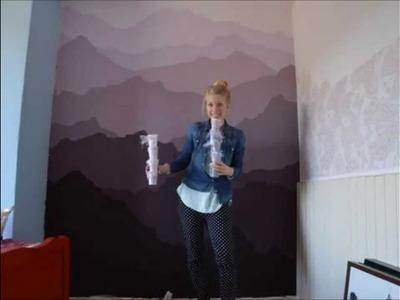 Purple Mountains - wall art time lapse