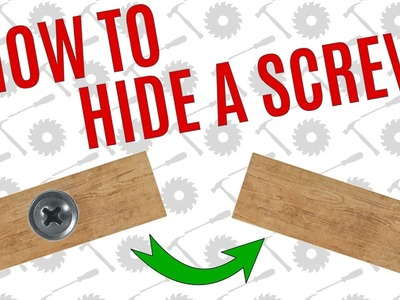 Simple Way To Hide A Screw - Average Joe's Quick Tips