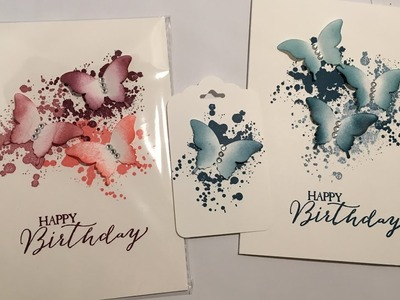 Stampin Up Simple Butterfy Card